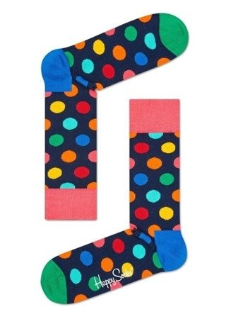 Happy Socks Giftbox Big Dot Cracker (2-paar) SXBDO02-6500