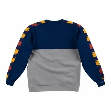 Mitchell & Ness Leading Scorer Fleece Crew Golden State Warriors  - FCNKDF18025-GSWNAVY