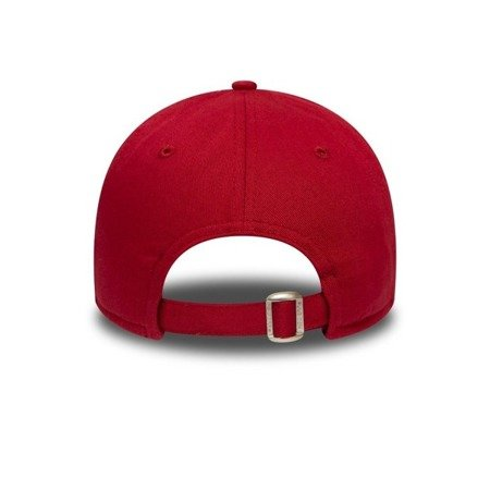 New Era 9FORTY New York Yankees Essential Womens Red Strapback - 12134638