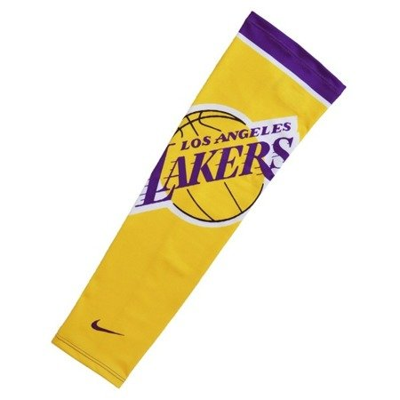 Nike Elite Los Angeles Lakers Basketball Armschützer - N1000538747