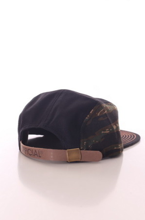 Official - Black Tiger Camo - 5Panel Snapback