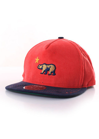 Official Calidorocord Red Snapback