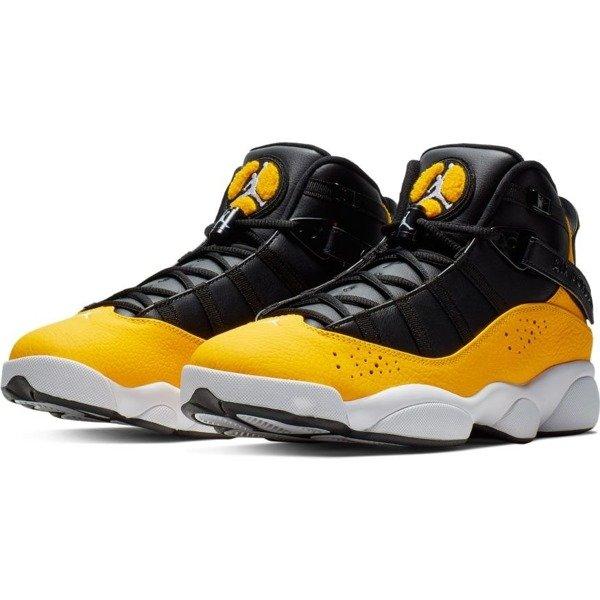 Buty męskie sneakersy Jordan 6 Rings 322992 700 | ŻÓŁTY