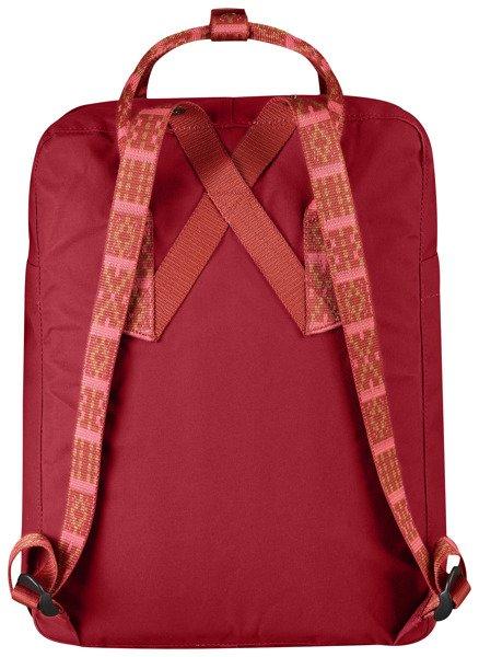 tanie trampki Gdzie mogę kupić najlepsza cena Kanken plecak Fjallraven Deep Red Folk Pattern 925-903