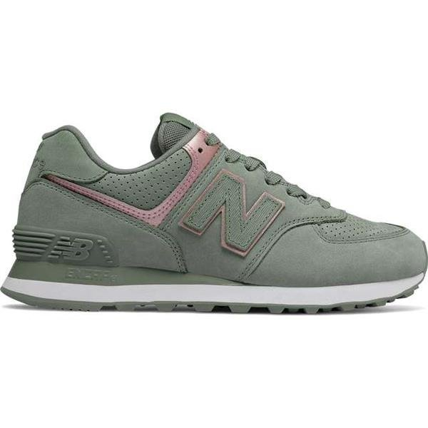 b3d473e962e5c4 New Balance WL574NBL SEED WITH CHAMPAGNE METALLIC - Buty Damskie Sneakersy  - Intempo.pl