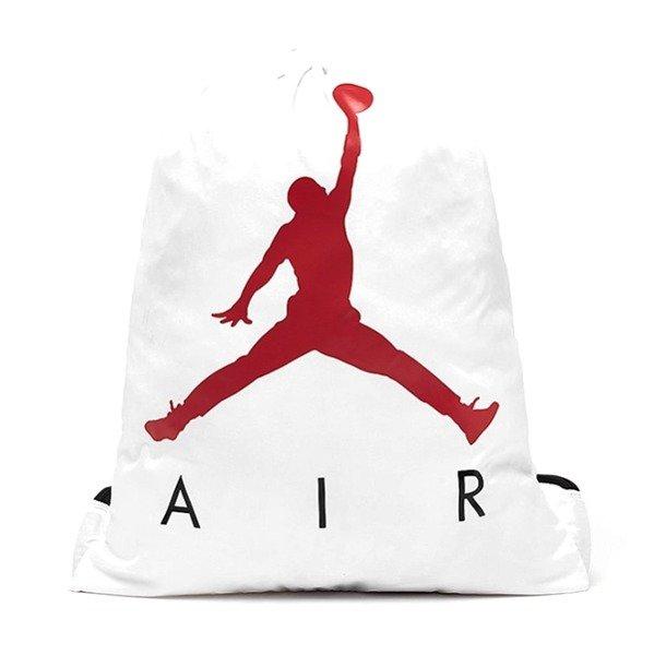 Worek na buty Jordan Gym Sack White 9A0042 001