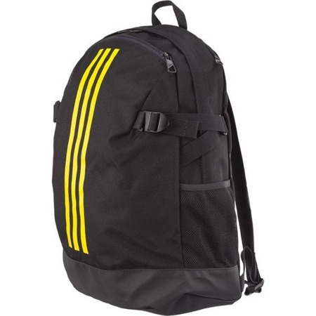 Adidas BACKPACK POWER IV M CARBON SHOCK YELLOW SHOCK YELLOW - Plecak Miejski