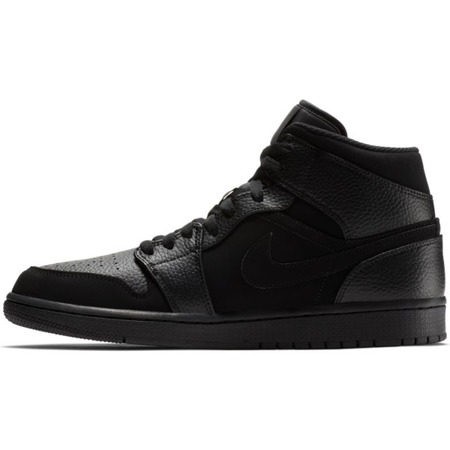 Buty Air Jordan 1 Mid Black - 554724-064