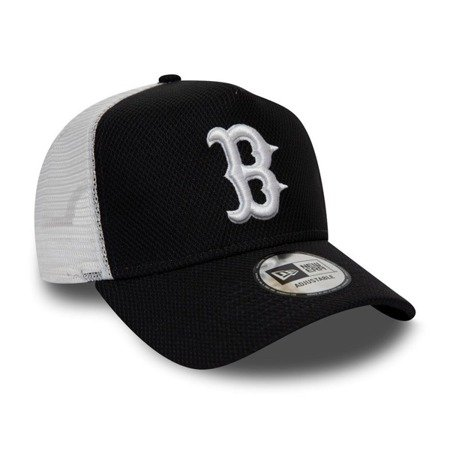 Czapka New Era Boston Red Sox Diamond Era Navy A Frame Trucker - 12040559