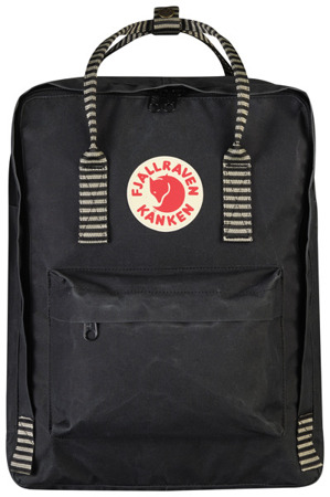 Kanken Plecak Fjallraven Black Striped 550-901