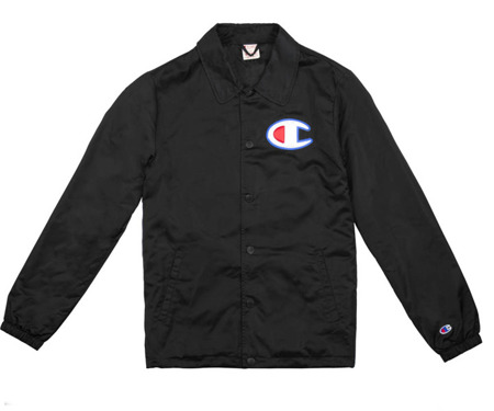 Kurtka męska Champion Coach Jacket Black