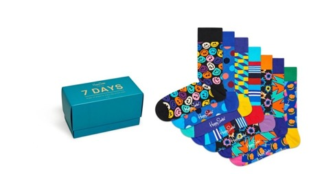 Skarpetki Happy Socks 7 Days Gift Box (7-par) XSNI08-0100