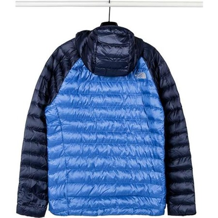 The North Face M TREVAIL HOODIE 39N4 TURKISH SEA URBAN NAVY - Kurtka Męska Zimowa