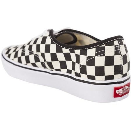 Vans AUTHENTIC LITE 5GX CHECKERBOARD BLACK WHITE - Buty Sneakersy